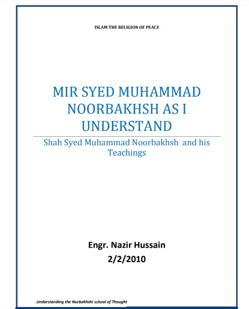 Noorbakhshia English Book