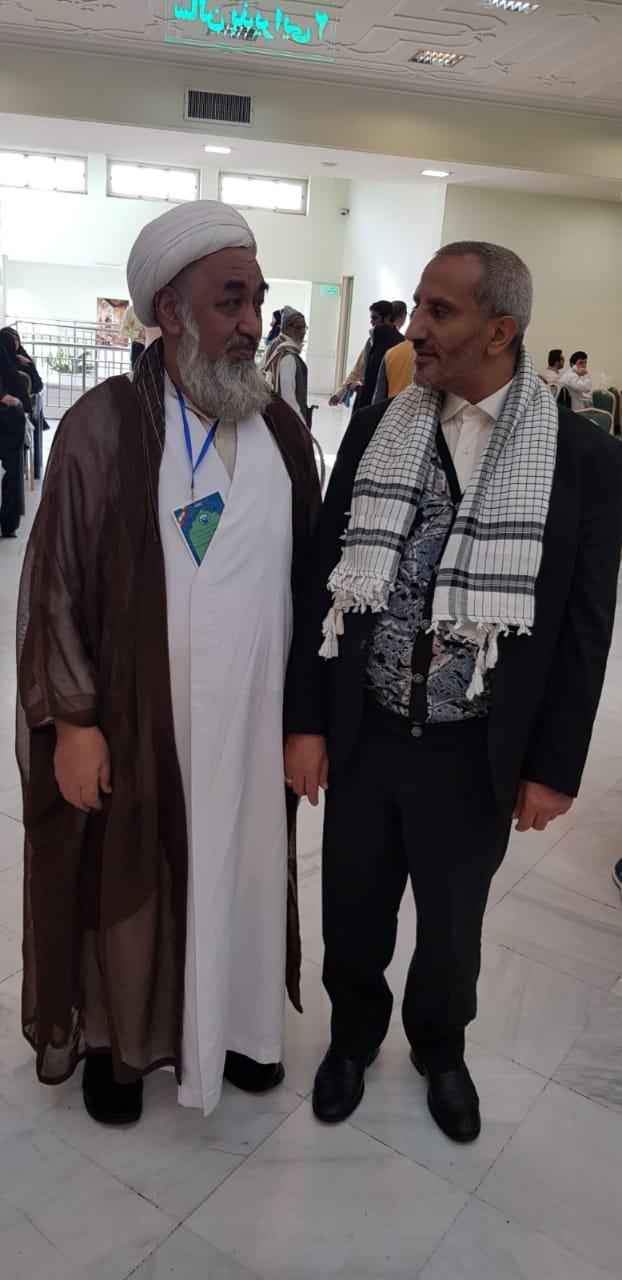 علامہ شیخ سکندر حسین، سلسلہ جیلانی کردستان ترکی کے نمائندہ صلاح الدین قندوزی کے ساتھ عالمی بیداری امت و محبان اہلبیت کانفرنس کے موقع پر
