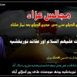 علامہ سید بشارت حسین تھگسوی